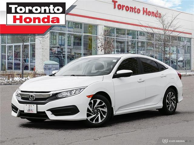 2016 Honda Civic Sedan EX (Stk: H41203T) in Toronto - Image 1 of 30