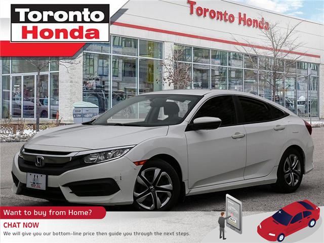 2016 Honda Civic Sedan LX MANUAL (Stk: H41399P) in Toronto - Image 1 of 30