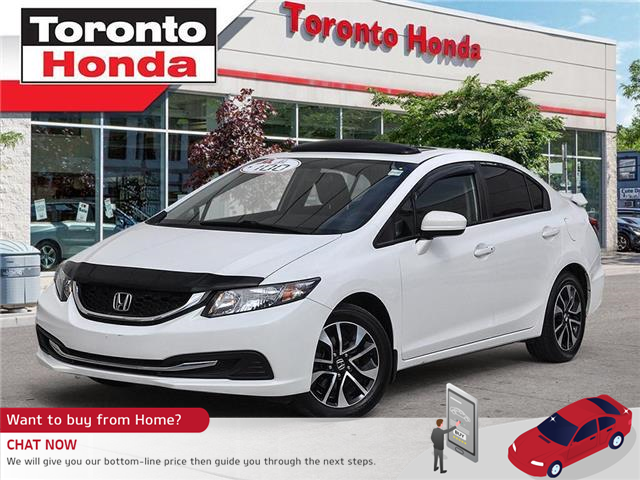 2015 Honda Civic Sedan EX (Stk: 39532A) in Toronto - Image 1 of 27