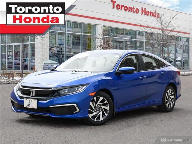 2019 Honda Civic Sedan EX 7 Years/160,000km Honda Certified Warranty (Stk: H41393A) in Toronto - Image 1 of 30