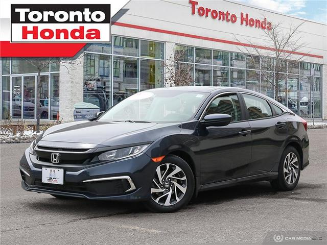 2019 Honda Civic Sedan EX 7 Years/160,000km Honda Certified Warranty (Stk: H41400P) in Toronto - Image 1 of 30
