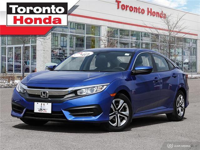2016 Honda Civic Sedan LX (Stk: H41462P) in Toronto - Image 1 of 30