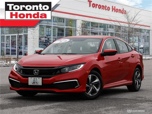 2019 Honda Civic Sedan LX 7 Years/160,000km Honda Certified Warranty (Stk: H41470T) in Toronto - Image 1 of 30