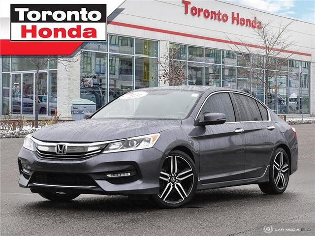 2017 Honda Accord Sedan Sport (Stk: H41478A) in Toronto - Image 1 of 30