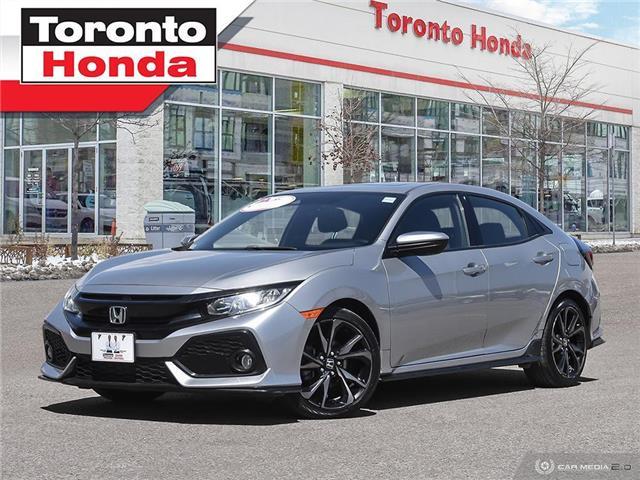 2017 Honda Civic Hatchback Sport w/Honda Sensing (Stk: H41489P) in Toronto - Image 1 of 30