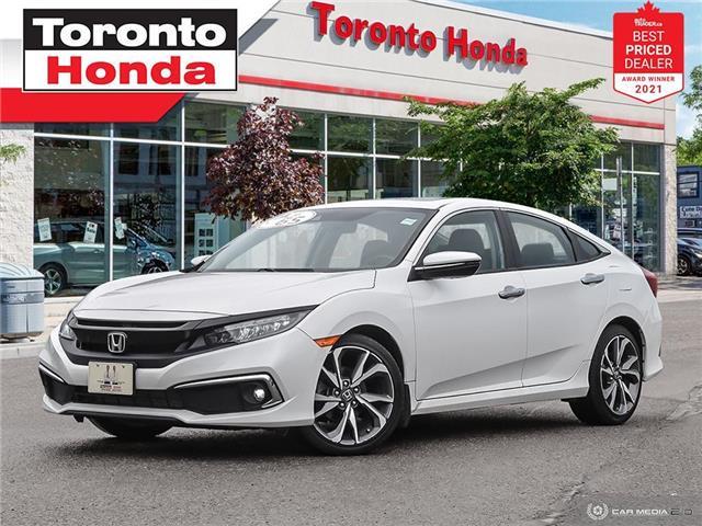 2019 Honda Civic Touring 7 Years/160,000KM Honda Certified Warranty (Stk: H41557P) in Toronto - Image 1 of 30