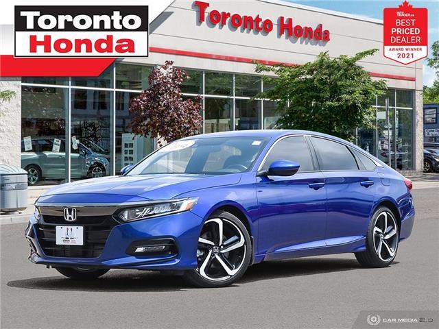 2020 Honda Accord Sport 7 Years/160,000KM Honda Certified Warranty (Stk: H41653P) in Toronto - Image 1 of 30