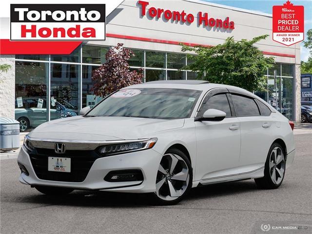 2019 Honda Accord Touring 2.0T 7 Years/160,000KM Honda Certified War (Stk: H41659A) in Toronto - Image 1 of 30
