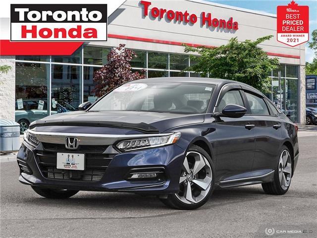 2018 Honda Accord Touring 7 Years/160,000KM Honda Certified Warranty (Stk: H41652A) in Toronto - Image 1 of 30