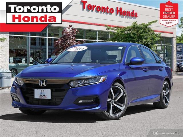 2018 Honda Accord Sport 7 Years/160,000KM Honda Certified Warranty (Stk: H41670A) in Toronto - Image 1 of 30