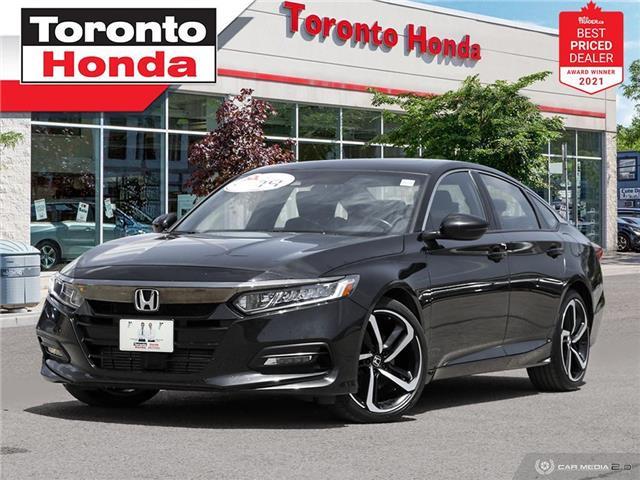 2018 Honda Accord Sport 7 Years/160,000KM Honda Certified Warranty (Stk: H41700A) in Toronto - Image 1 of 30