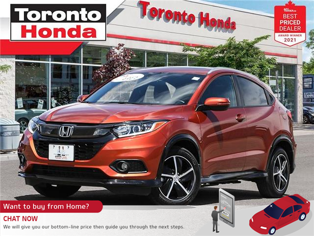 2019 Honda HR-V Sport 7 Years/160,000KM Honda Certified Warranty (Stk: H41714T) in Toronto - Image 1 of 30