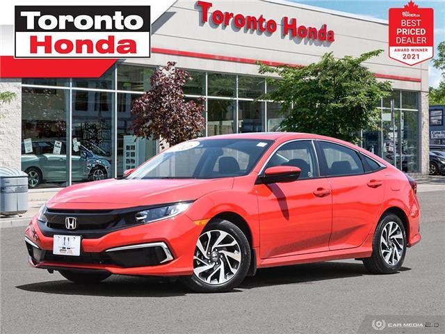 2020 Honda Civic EX 7 Years/160,000KM Honda Certified Warranty (Stk: H41771A) in Toronto - Image 1 of 30