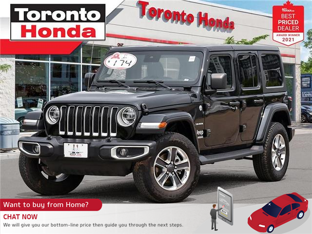 2020 Jeep Wrangler Unlimited Sahara (Stk: K32409T) in Toronto - Image 1 of 30