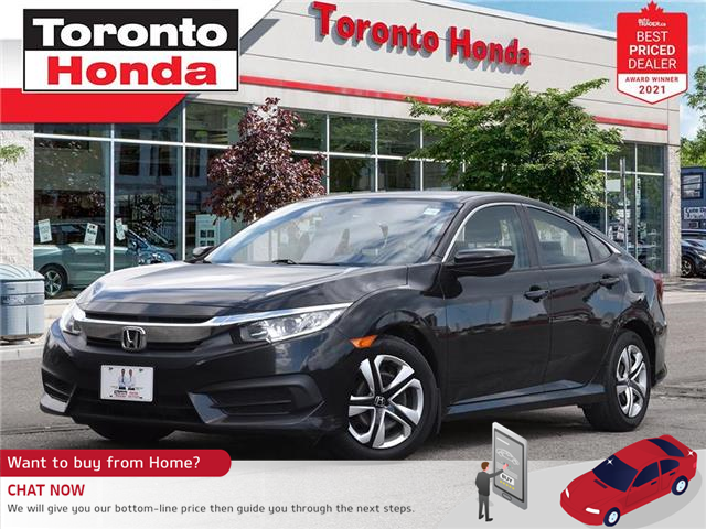 2016 Honda Civic LX (Stk: H42007A) in Toronto - Image 1 of 30