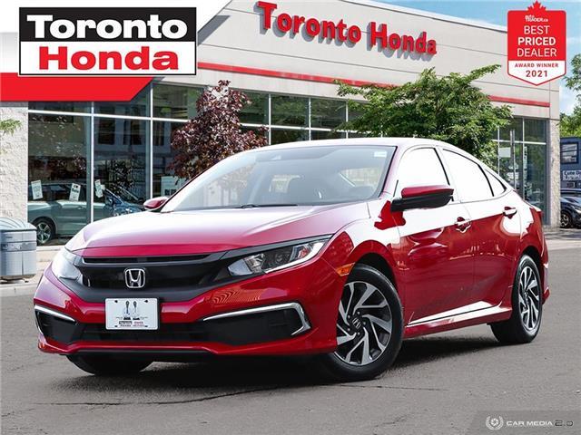2019 Honda Civic EX 7 Years/160,000KM Honda Certified Warranty (Stk: H42010A) in Toronto - Image 1 of 30