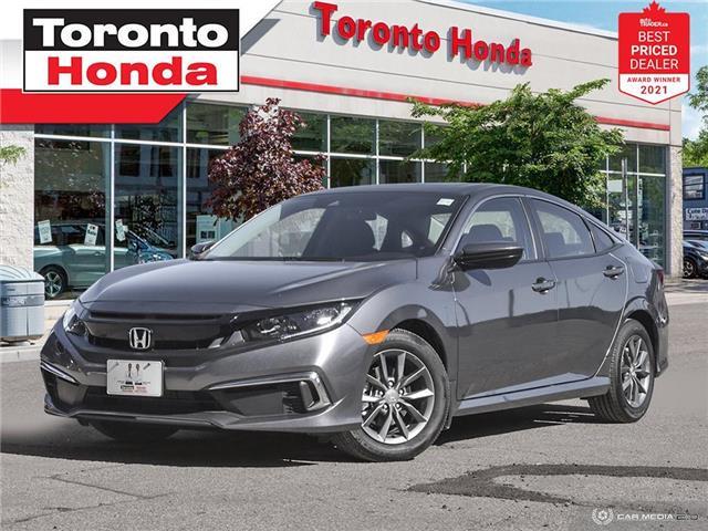 2021 Honda Civic EX (Stk: H43022P) in Toronto - Image 1 of 30
