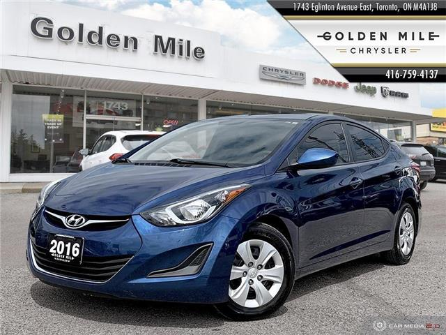 2016 Hyundai Elantra  (Stk: 19208AA) in North York - Image 1 of 25