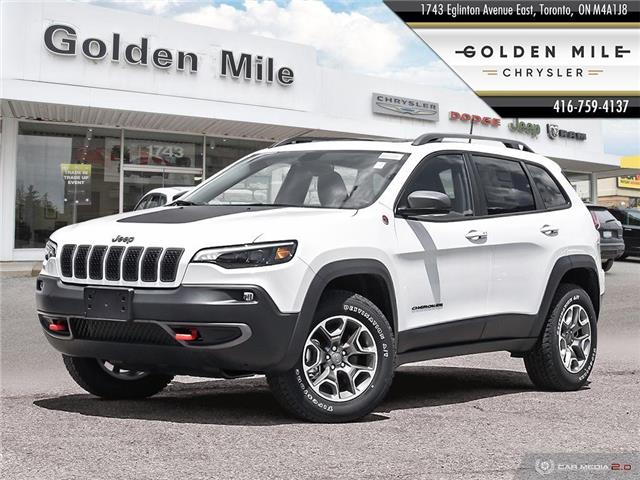 2020 Jeep Cherokee Trailhawk (Stk: 20082) in North York - Image 1 of 27
