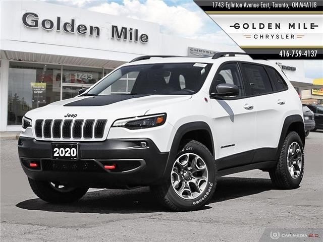 2020 Jeep Cherokee Trailhawk (Stk: 20085) in North York - Image 1 of 27