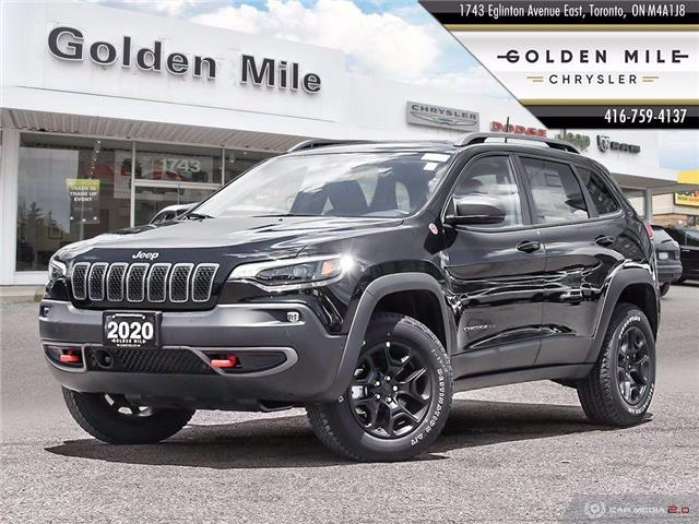 2020 Jeep Cherokee Trailhawk (Stk: 20074) in North York - Image 1 of 27