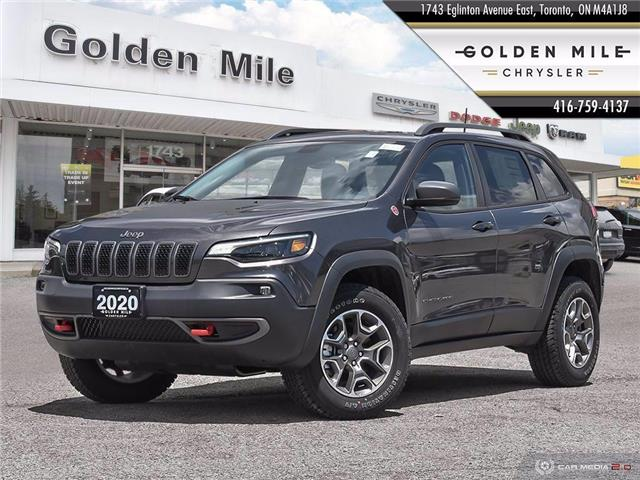 2020 Jeep Cherokee Trailhawk (Stk: 20077) in North York - Image 1 of 27