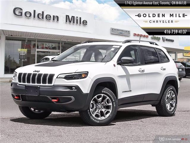 2020 Jeep Cherokee Trailhawk (Stk: 20072) in North York - Image 1 of 27