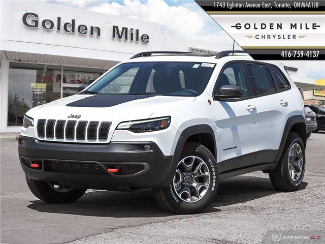 2020 Jeep Cherokee Trailhawk (Stk: 20065) in North York - Image 1 of 27