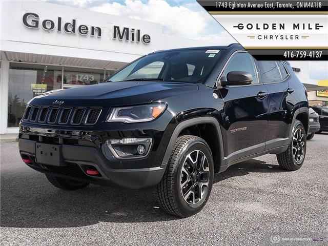 2021 Jeep Compass Trailhawk (Stk: 21001) in North York - Image 1 of 27