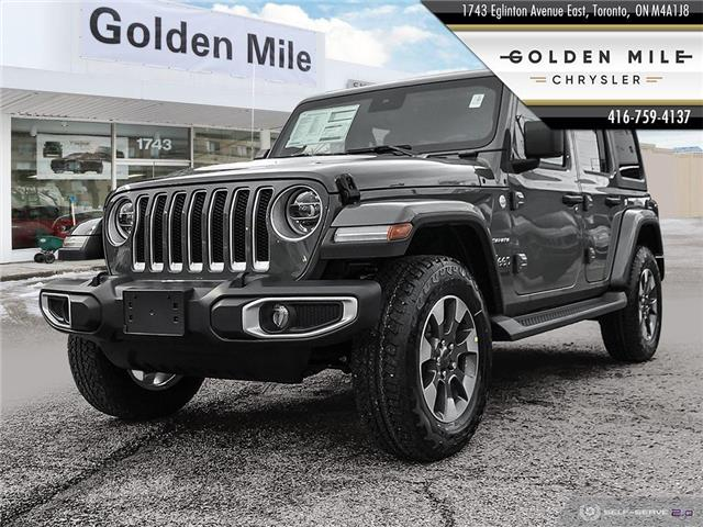 2021 Jeep Wrangler Unlimited Sahara (Stk: 21025) in North York - Image 1 of 25