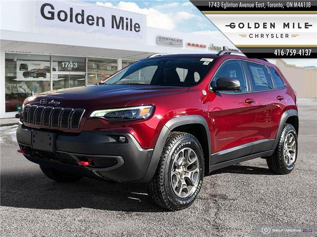 2021 Jeep Cherokee Trailhawk (Stk: 21028) in North York - Image 1 of 26