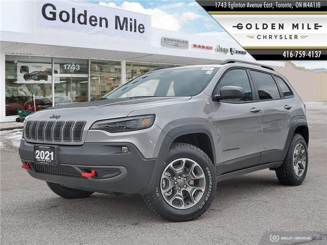 2021 Jeep Cherokee Trailhawk (Stk: 21043) in North York - Image 1 of 30