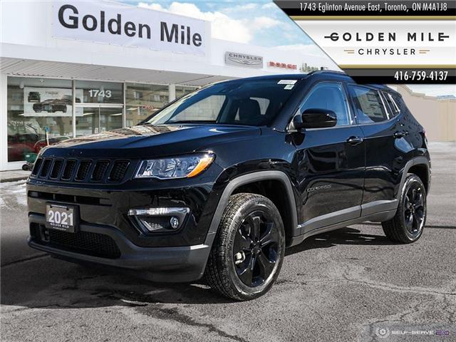 2021 Jeep Compass Altitude (Stk: 21063) in North York - Image 1 of 30