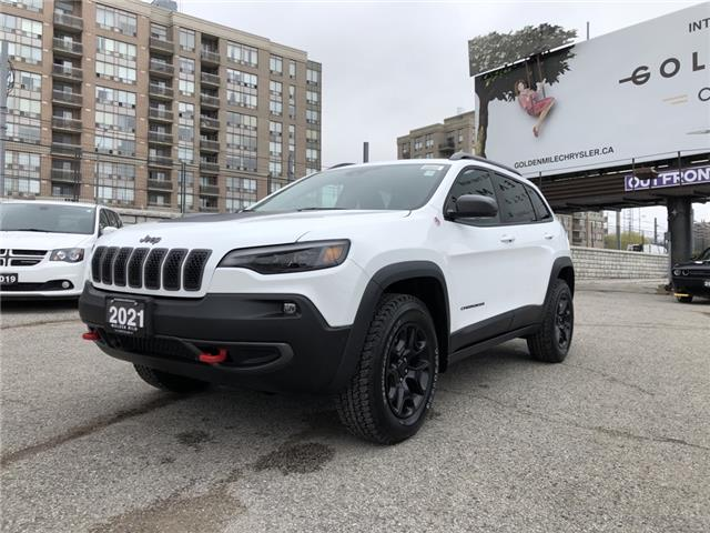 2021 Jeep Cherokee Trailhawk (Stk: 21120) in North York - Image 1 of 30