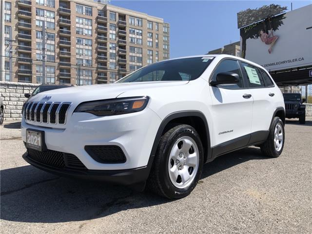 2021 Jeep Cherokee Sport (Stk: 21125) in North York - Image 1 of 29