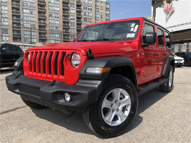 2021 Jeep Wrangler Unlimited Sport (Stk: 21154) in North York - Image 1 of 30