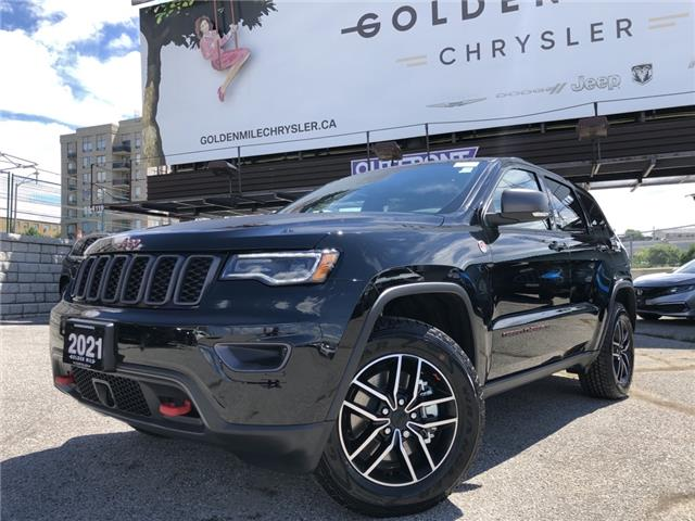 2021 Jeep Grand Cherokee Trailhawk (Stk: 21165) in North York - Image 1 of 30
