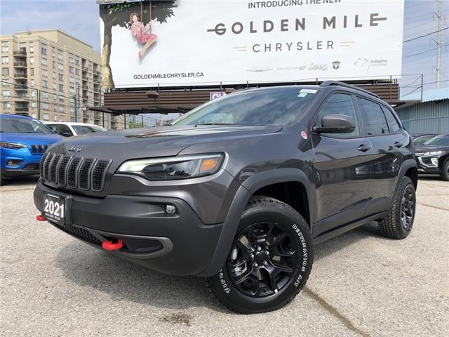 2021 Jeep Cherokee Trailhawk (Stk: 21191) in North York - Image 1 of 30