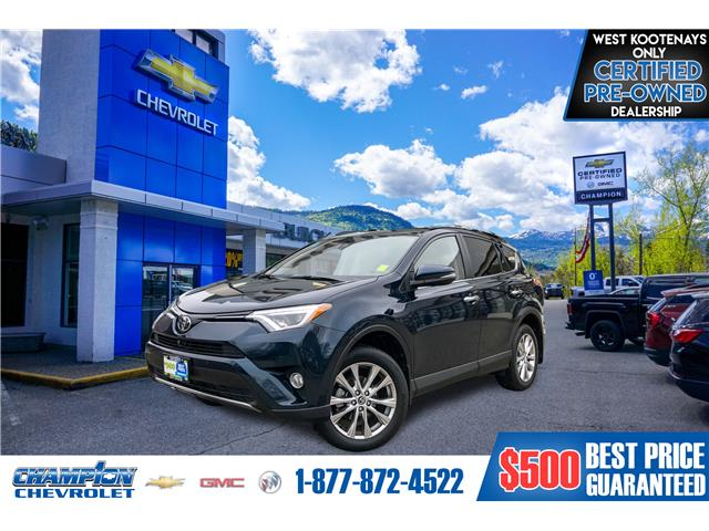 2018 Toyota RAV4 Limited (Stk: 18-396A) in Trail - Image 1 of 30