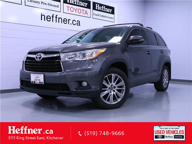 2016 Toyota Highlander XLE 5TDJKRFH3GS279418 186516 in Kitchener