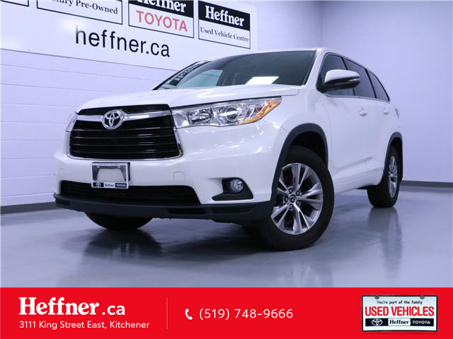 2016 Toyota Highlander LE (Stk: 195385) in Kitchener - Image 1 of 25