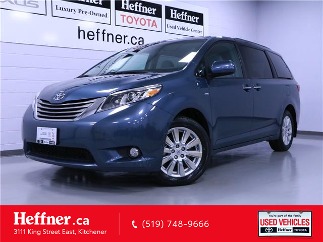 2017 Toyota Sienna XLE 7 Passenger (Stk: 205358) in Kitchener - Image 1 of 26