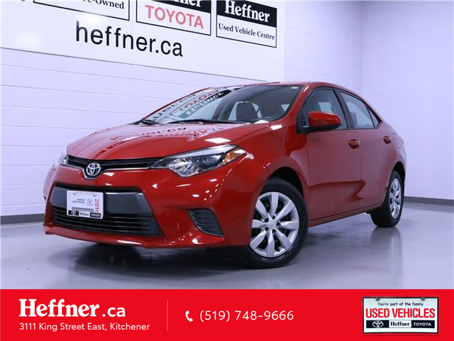 2016 Toyota Corolla LE (Stk: 205401) in Kitchener - Image 1 of 23