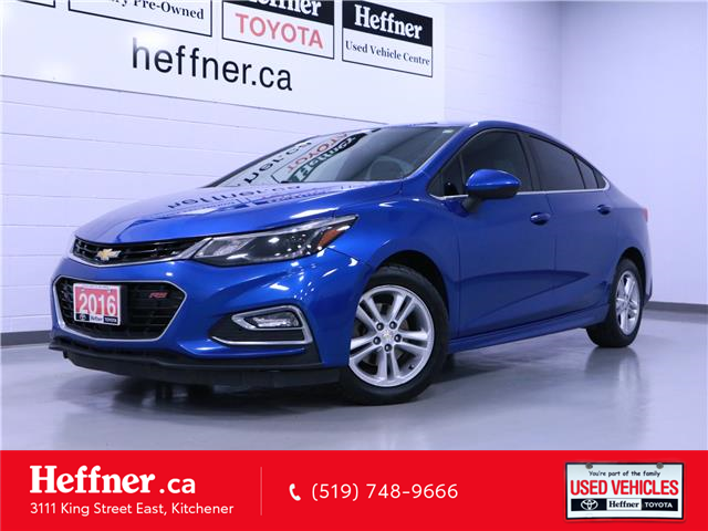 2016 Chevrolet Cruze LT Auto (Stk: 205368) in Kitchener - Image 1 of 22