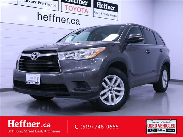 2016 Toyota Highlander LE (Stk: 205318) in Kitchener - Image 1 of 22