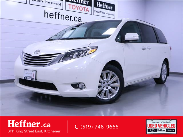 2017 Toyota Sienna Limited 7-Passenger (Stk: 205413) in Kitchener - Image 1 of 28