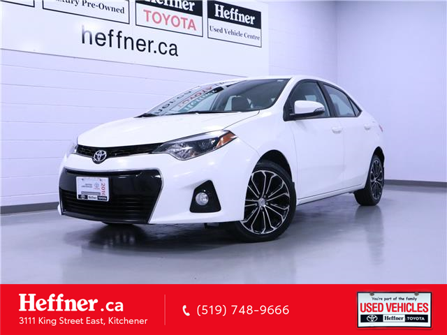2016 Toyota Corolla S (Stk: 205516) in Kitchener - Image 1 of 23
