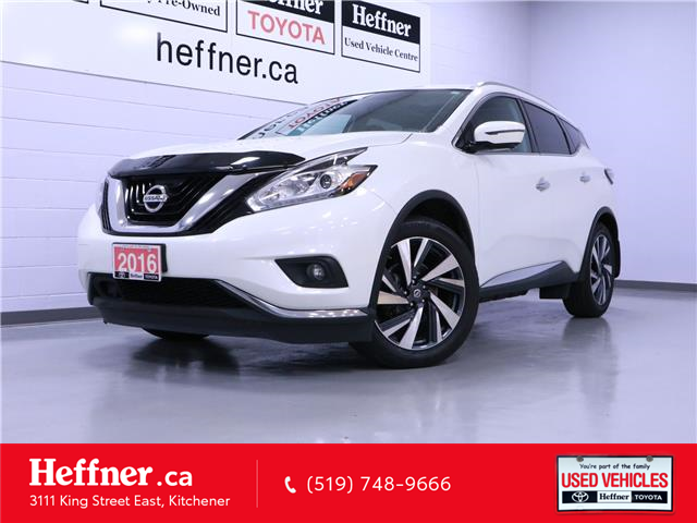 2016 Nissan Murano Platinum (Stk: 205552) in Kitchener - Image 1 of 25