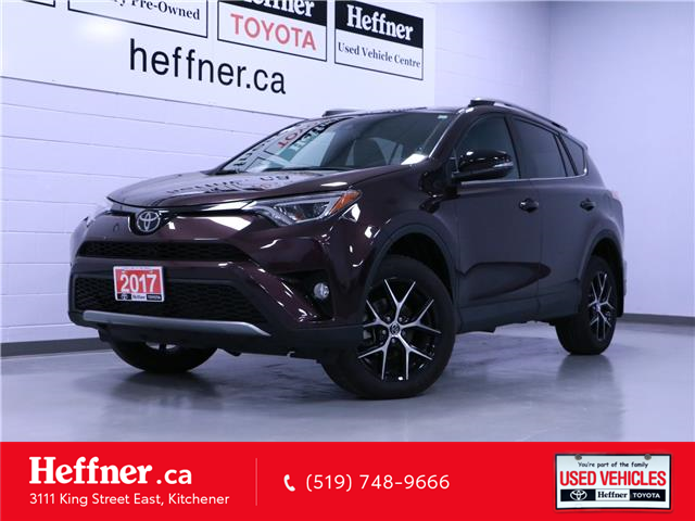 2017 Toyota RAV4 SE (Stk: 205384) in Kitchener - Image 1 of 24