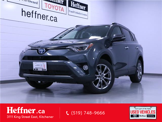 2017 Toyota RAV4 Hybrid Limited (Stk: 205505) in Kitchener - Image 1 of 25